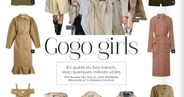 A la mode : Gogo girls !